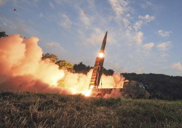 Lancio del missile Hyunmoo-2