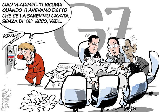 G7, Putin quanto ci manchi
