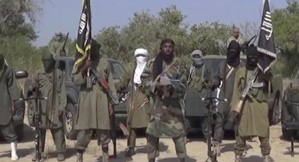 Imaggine video preso da Nigeria's Boko Haram terrorist network