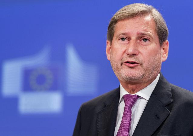 Commissario UE Johannes Hahn