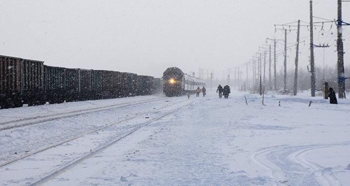 Treni nell'Artico