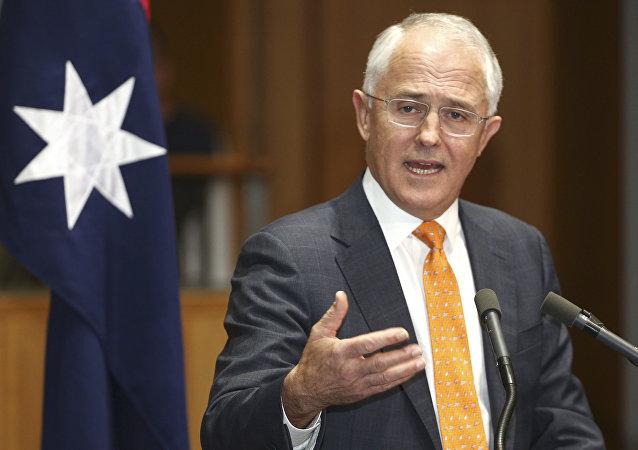 Il primo ministro australiano Malcolm Turnbull