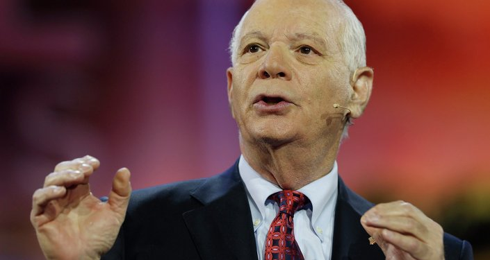 Senator Ben Cardin (D-MD) addresses the American Israel Public Affairs Committee (AIPAC) policy conference in Washington March 1, 2015