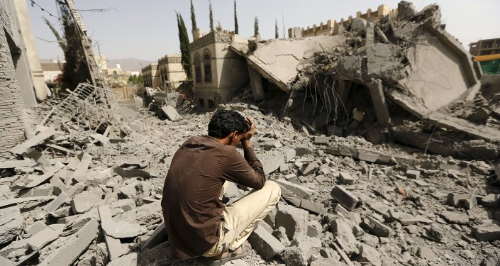 Dopo gli bombardamenti a Sana'a, la capitale dello Yemen