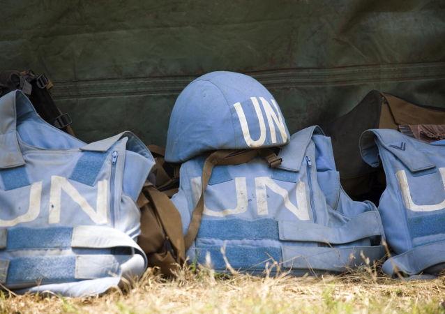 Caschi blu dell'ONU