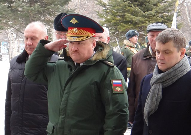 Generale russo Valery Asapov