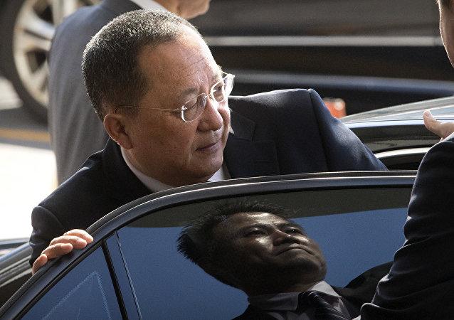 Ri Yong-ho, il ministro Esteri della Corea del Nord