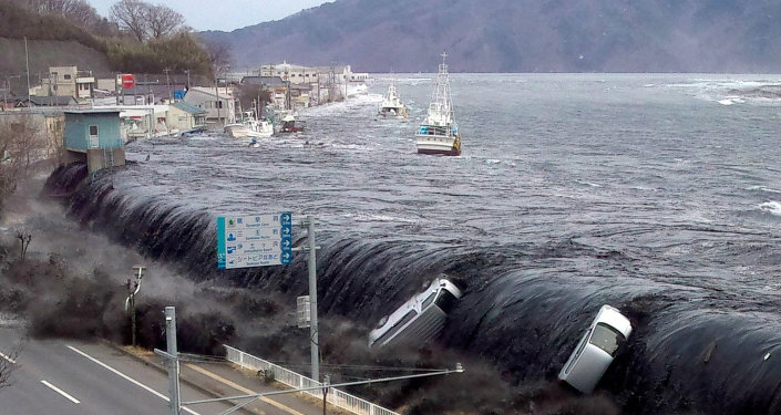 Tsunami, Giappone, 2011