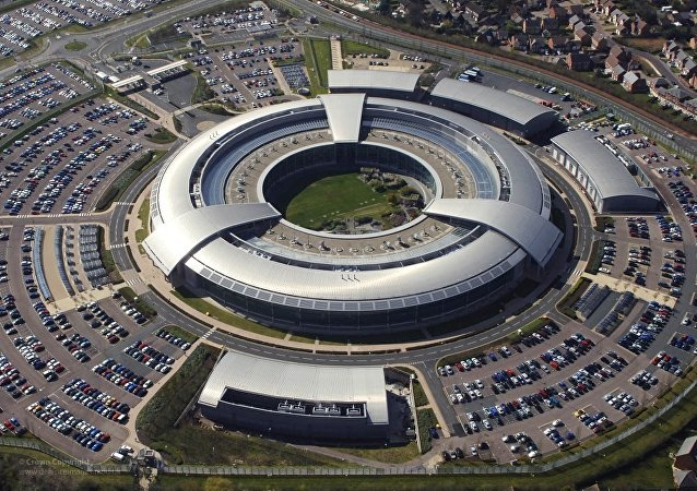 GCHQ Building at Cheltenham, Gloucestershire is on of the intelligence agencies using old laws to spy on people.