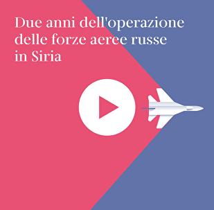 Due anni dell'operazione delle forze aeree russe in Siria