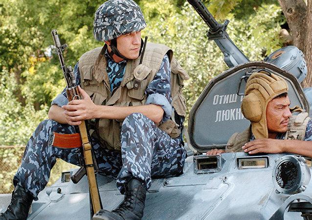 I soldati uzbeki