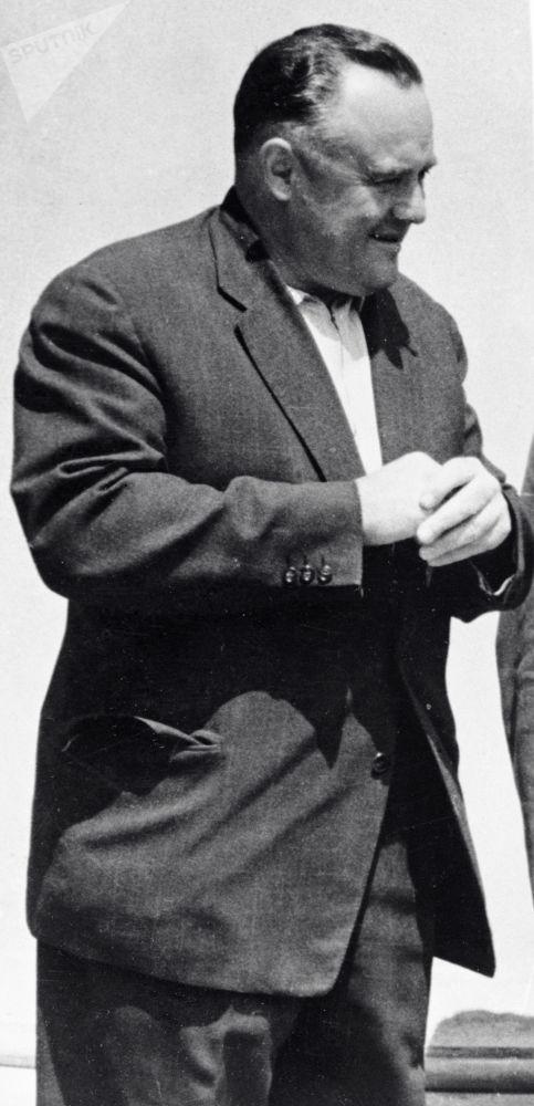 Sergej Pavlovič Korolëv, un ingegnere e progettista di razzi sovietici