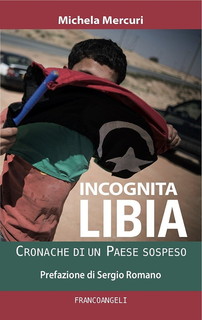 Copertina del libro Incognita Libia