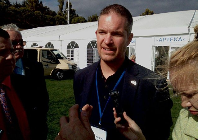 Capo della delegazione norvegese in Crimea Hendrik Weber