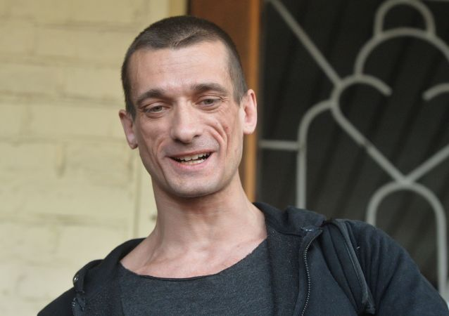 Artista Petr Pavlensky
