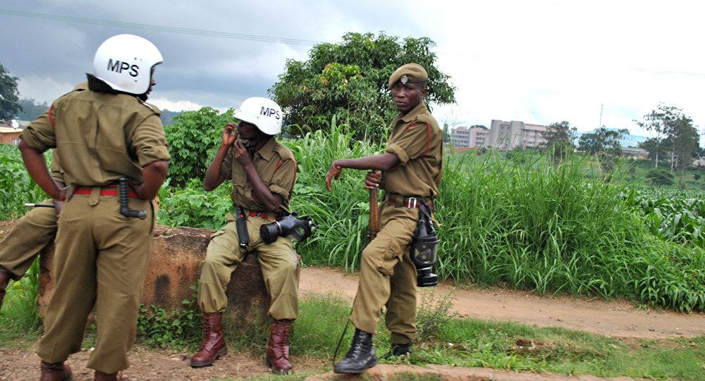 Poliziotti in Malawi