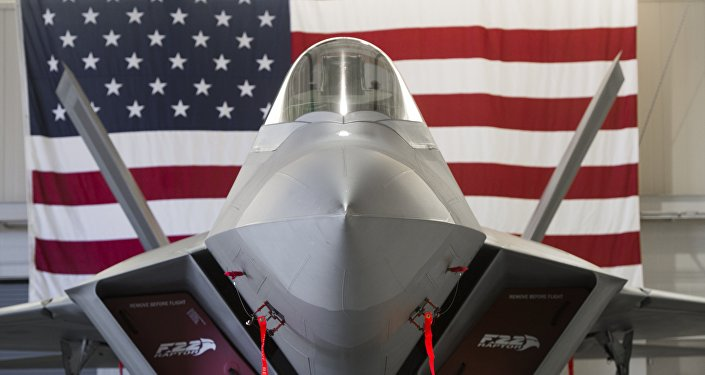 F-22 raptor dell'aviazioe USA