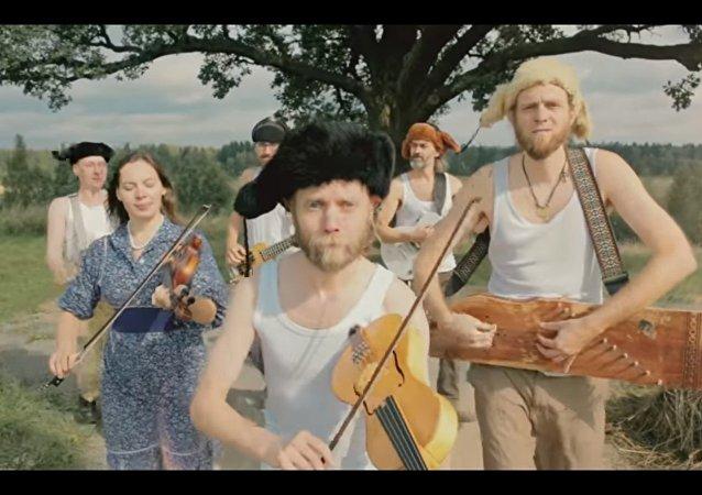 Il gruppo musicale folk di San Pietroburgo Otava Yo