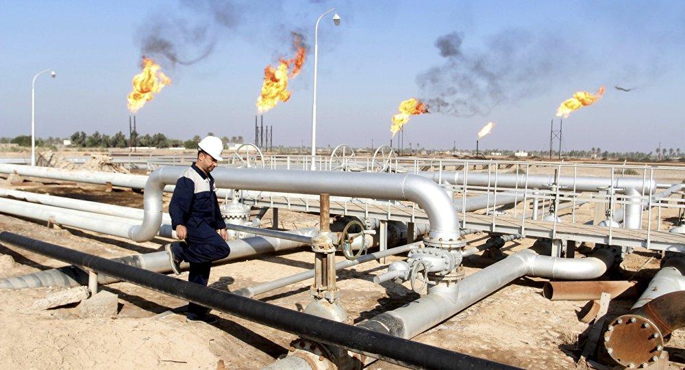 Raffineria di petrolio in Iraq