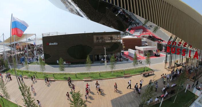 Il padiglione russo ad EXPO Milano.
