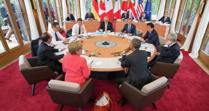 Vertice del G7 (foto d'archivio)