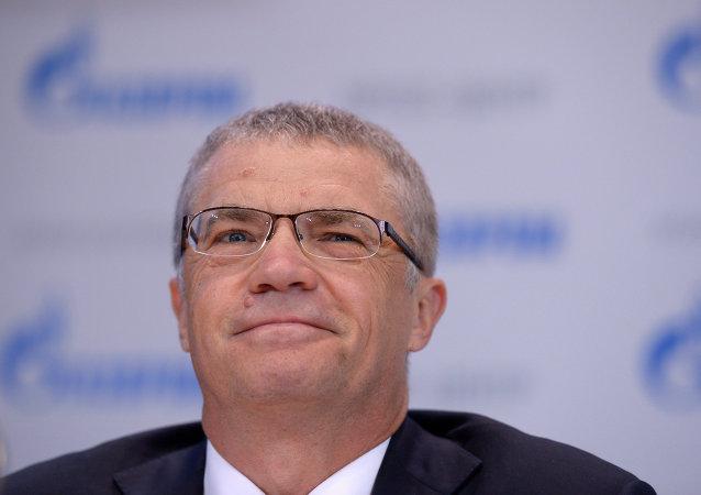 Alexander Medvedev, Gazprom