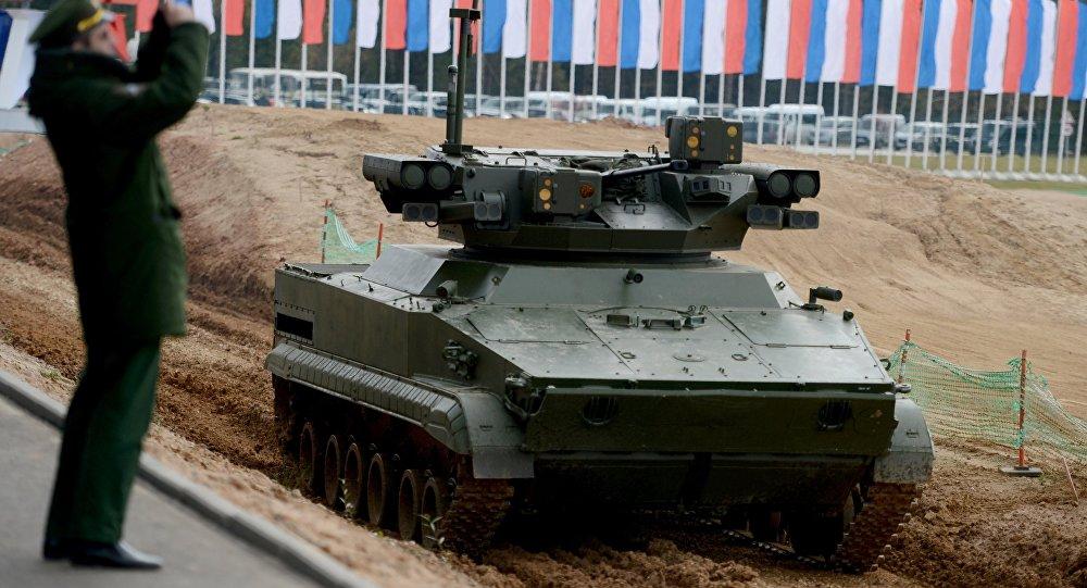 Sistema robotizzato Udar delle forze armate russe