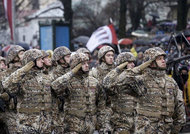 Esercito lettone (foto d'archivio)