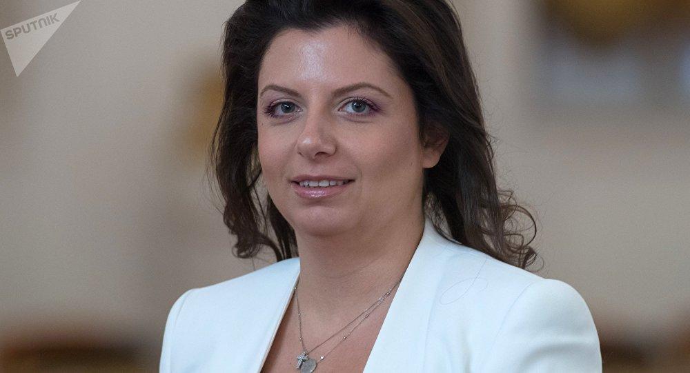 Margarita Simonyan, caporedattore di Sputnik