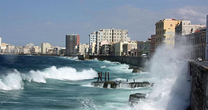 Una vista dell'Avana, Cuba