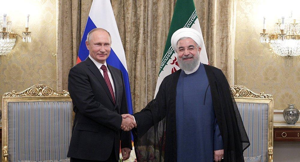 Risultati immagini per Foto Presidente Putin e dell'Iran
