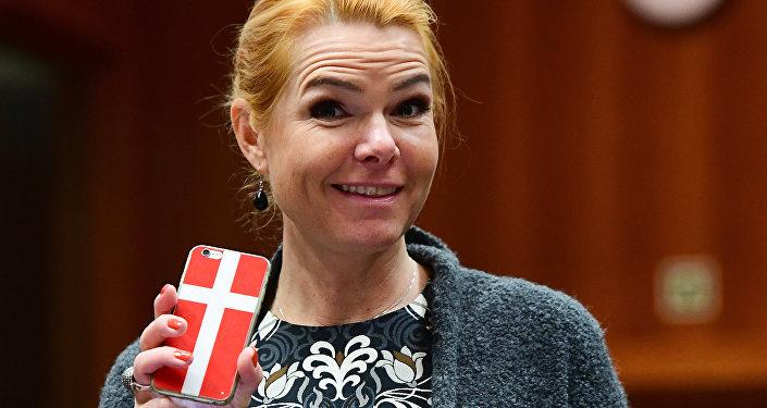 Ministro danese per le questioni migratorie Inger Støjberg (foto d'archivio)
