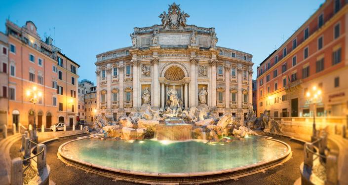Il palazzo Poli a Roma