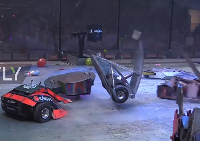 La battaglia tra robot