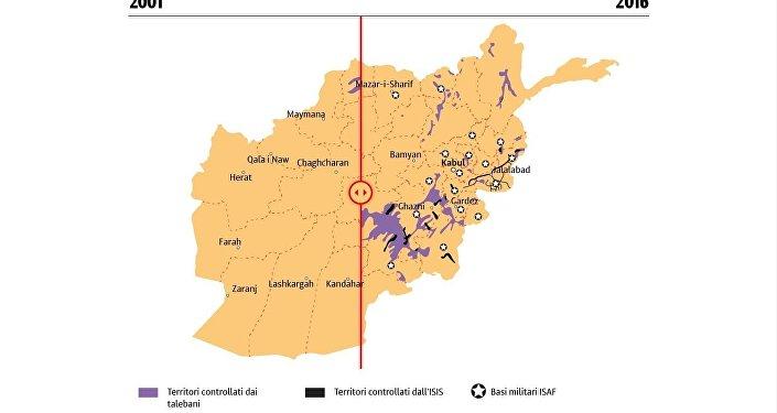L'Afghanistan dopo il dispiegamento delle truppe ISAF (2001-2017)