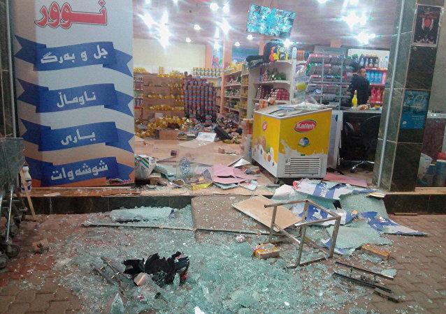 Le conseguenze del terremoto del 12 novembre in Iraq.