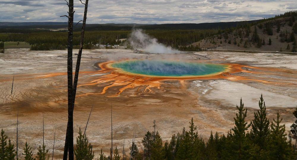 Caldera di Yellowstone
