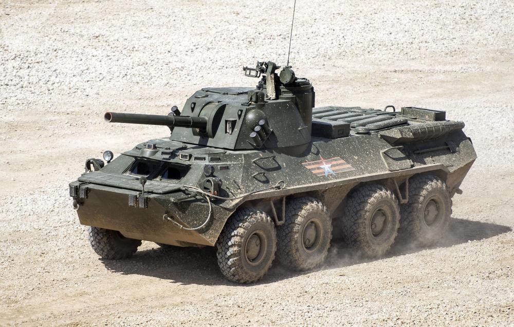 Il cannone d'assalto semovente S23 Nona-SVK.