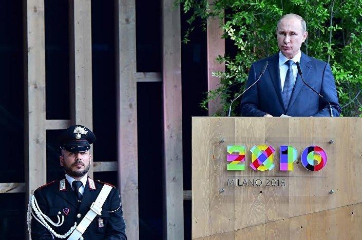 Putin al Giorno della Russia