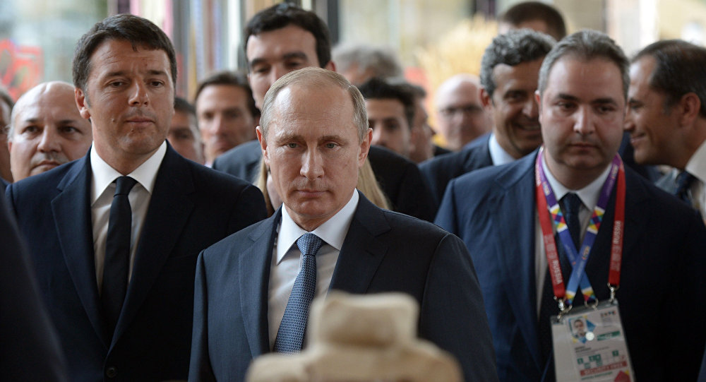 Putin all'EXPO di Milano