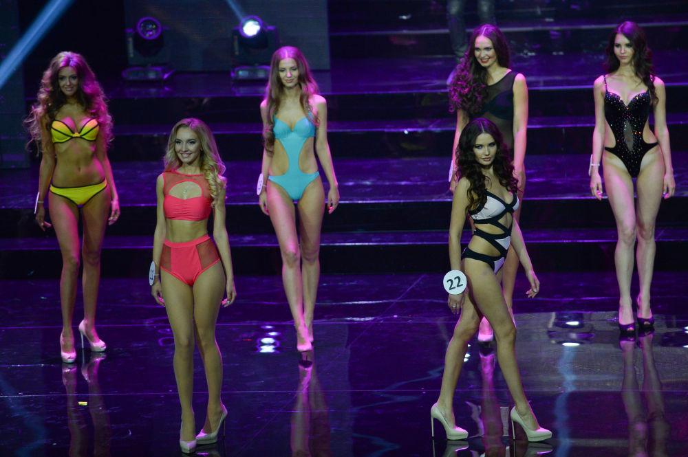 Finale del concorso Miss Mosca 2015