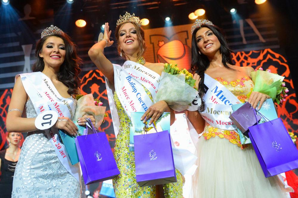Finalisti del concorso Miss Mosca 2015