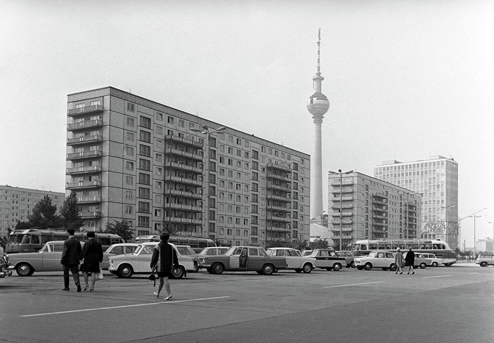 Berlino, la torre della televisione