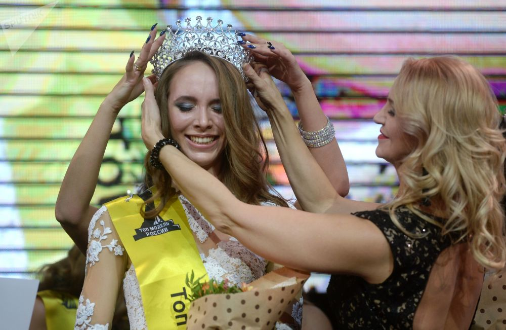 Le finali del concorso Top Model Russia 2017