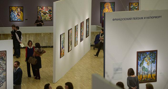 Galleria Tretyakov a Mosca (foto d'archivio)
