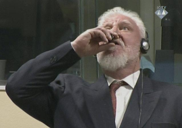 Suicidio dell'ex generale croato-bosniaco Slobodan Praljak