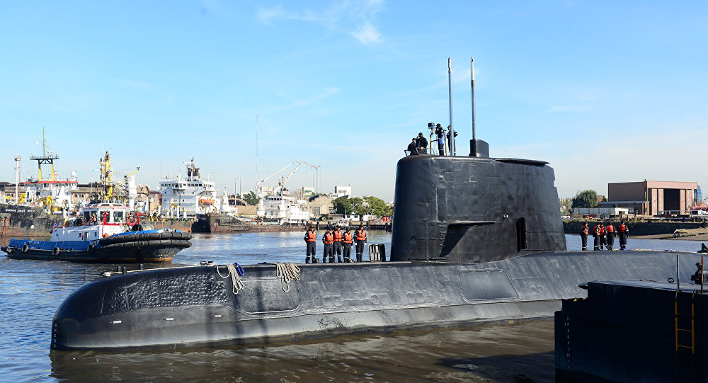 Sottomarino San Juan (foto d'archivio)