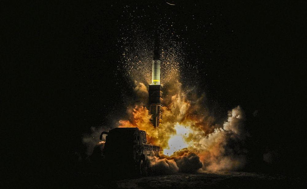 Il lancio del missile sudcoreano Hyunmoo II