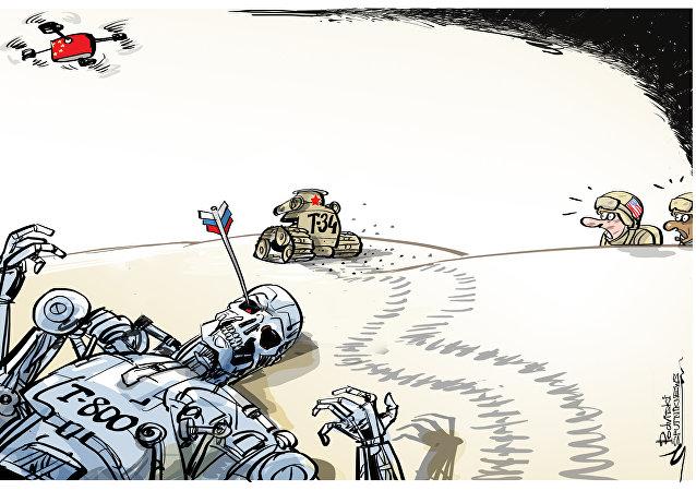 Media Usa spaventati dai robot russi e cinesi