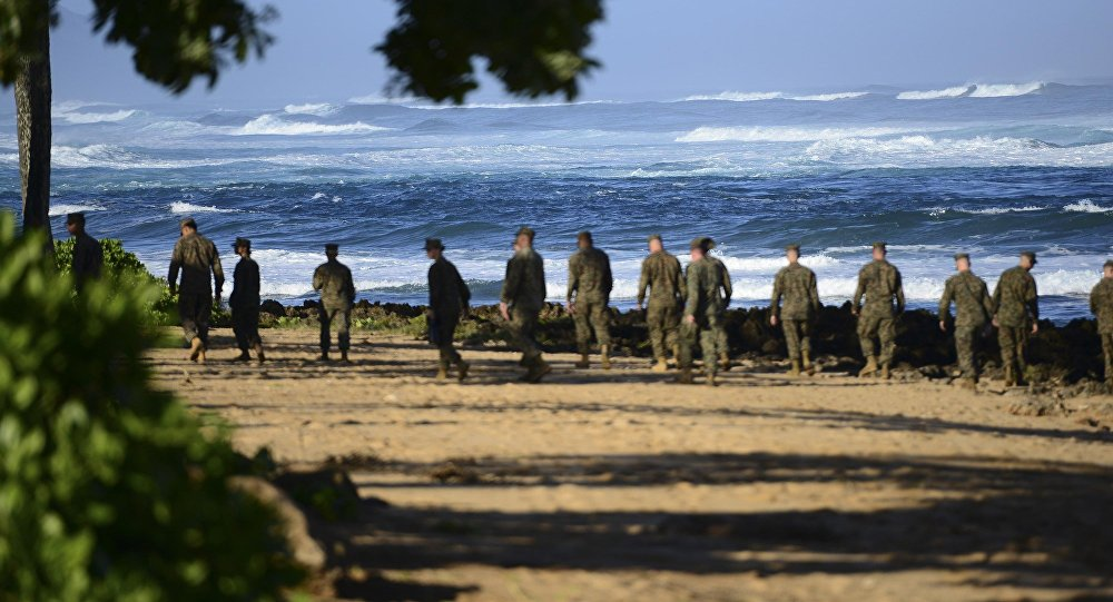Marines americani alle Hawaii